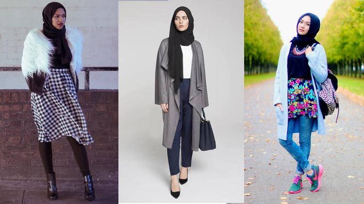 layering hijab